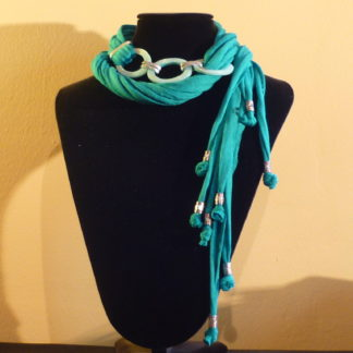 collana lariat turchese