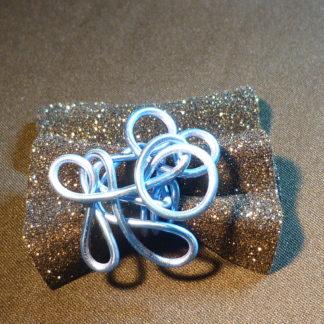 anello alluminio blu