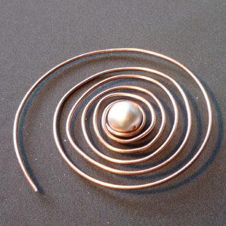 spilla spirale