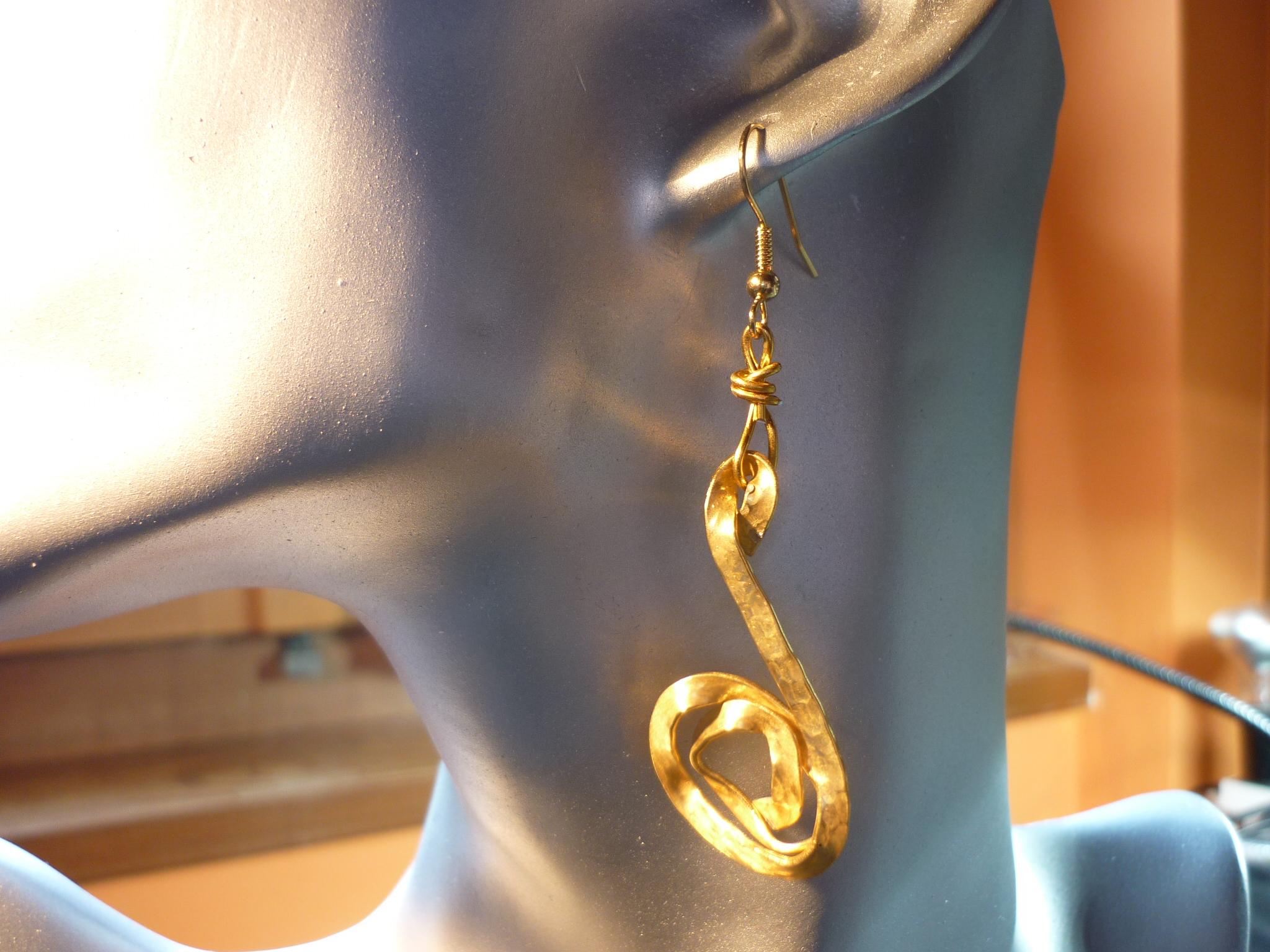 orecchini confusion dorati