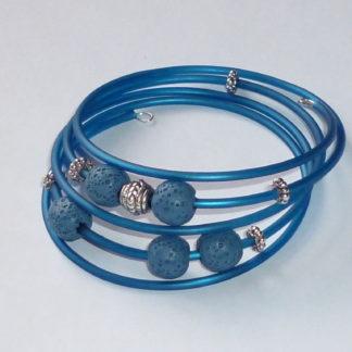 Bracciale blu Tibet